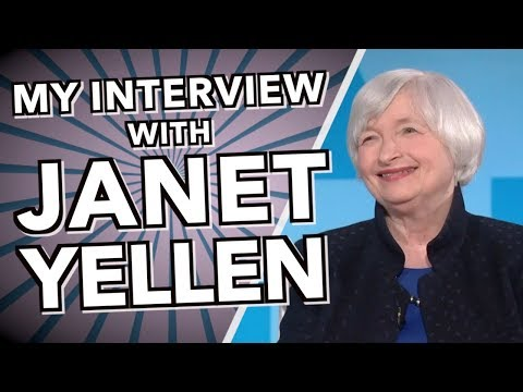 My Interview with Janet Yellen