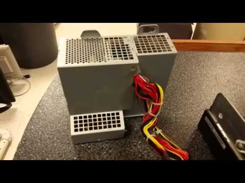 How to take power supply out of HP Compaq Desktop