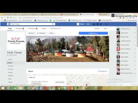 How to Change Facebook Page Name, Username, Category in 2017