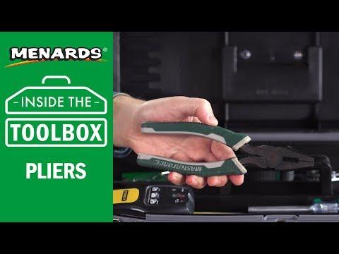 Menards - Inside the Toolbox - Pliers