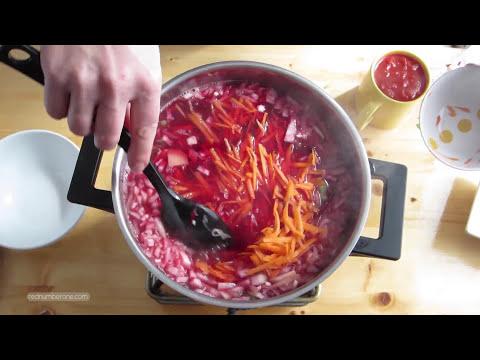 Borscht (Borsch) Russian and Ukrainian Beet Soup Recipe