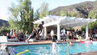 Chris Brown Pool Party Birthday Party Behind The Scenes