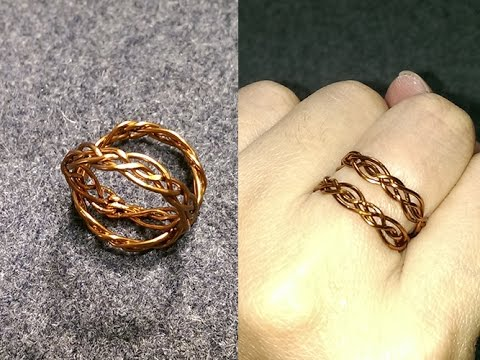 Celtic knot ring - Wire Wrapping Ideas 228