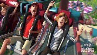 تشغيل قطار الموت 2# | Planet Coaster