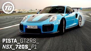 BEST OF SUPERCARS: Ferrari Pista, Honda NSX, McLaren 720S, McLaren P1, Porsche GT2RS | Top Gear
