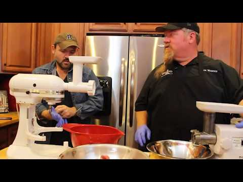 Handcrafted Bratwurst and Sausage Making