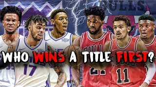 What Young Team is The Next DYNASTY? Bulls vs Kings NBA 2K19 Rebuild Challenge