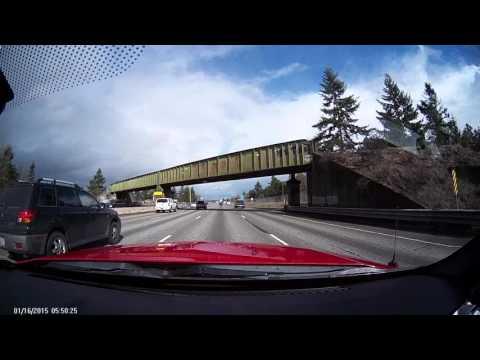 Accident I-5 north Tacoma 28Feb2016