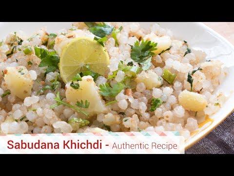 Authentic Sabudana Khichdi recipe for fasting, How to soak sabudana.something's cooking with alpa.