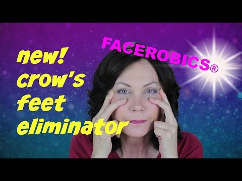 How to Get Rid of Crows Feet Wrinkles | FACEROBICS® Face Exercise Program