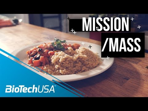 Bulking Meal Prep - Mission Mass with Justin St. Paul - BioTechUSA