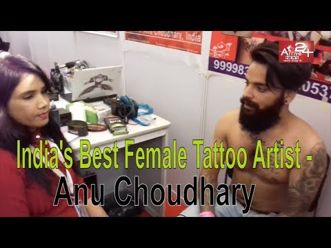 India's Best Female Tattoo Artist - Anu Choudhary Interview ||Arrive 24 News ||