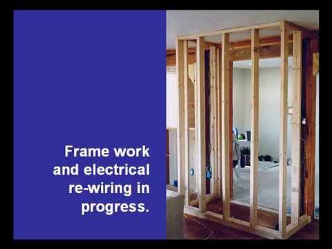 Building a kitchen pantry, or room closet.