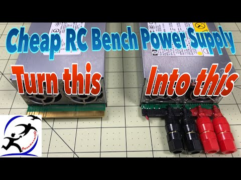 Turning an HP DPS800GB power supply into an RC Bench Power Supply. Your cheapest power supply option