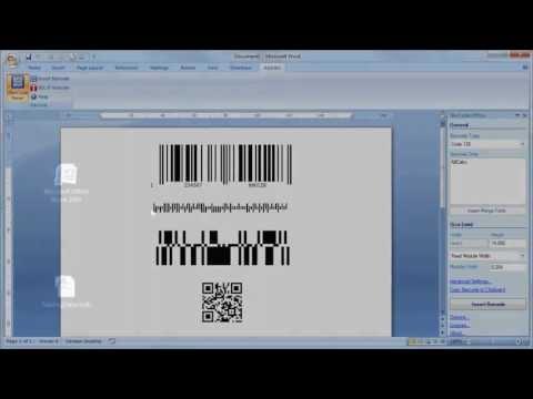 BARCODE Add-In für Microsoft Word