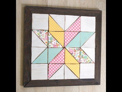 Wooden Quilt Block