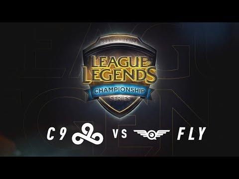 C9 vs. FLY - Week 8 Game 1 | NA LCS Summer Split | Cloud9 vs. FlyQuest (2017)
