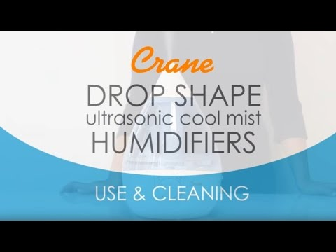 Crane Drop Shape Humidifier  [ Use & Cleaning ]