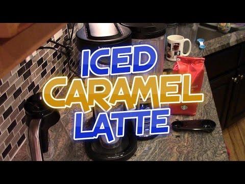 Iced Caramel Latte - Ninja Coffee Bar Recipe