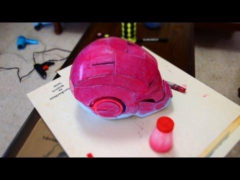 #5: Iron Man Helmet DIY - Foam With Template