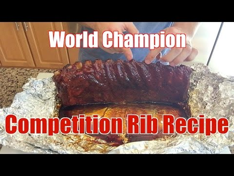 World Champion Competition Rib Recipe - Smokin' Hoggz - Secrets of Smoking