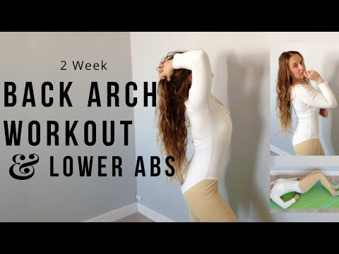 Back Arch/Curve & Sleek Lower Abs Workout