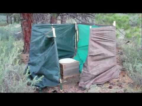 How To: Build a portable backcountry  privy