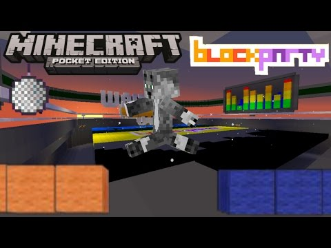 Block Party in Mcpe!