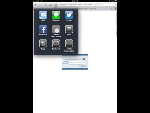 Making A Shortcut On Your iPad Homescreen