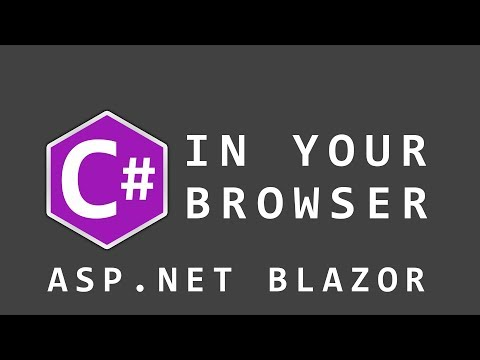 I Learn Blazor - C# in Your Web Browser