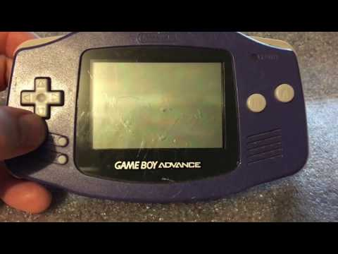 HOW TO REMOVE & REPLACE A GAMEBOY ADVANCE SCREEN! by the Crazy Game Bandit
