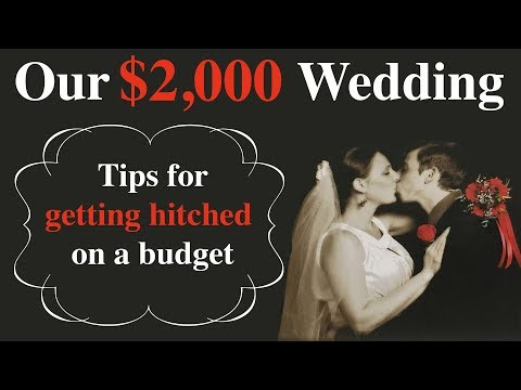 Our $2,000 Wedding — Getting Married on a Budget