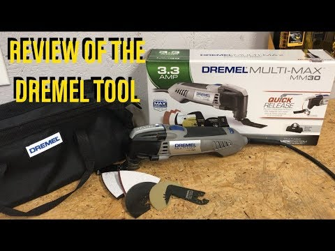 Tool Review on the Dremel Multi-Max MM30 Oscillating Tool