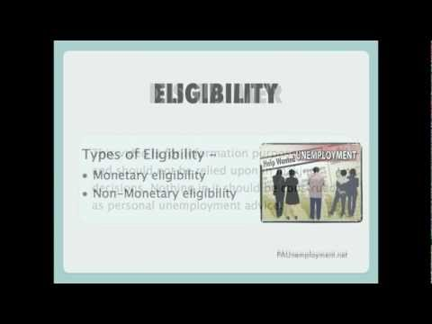 Unemployment Benefits Eligibility - Pennsylvania