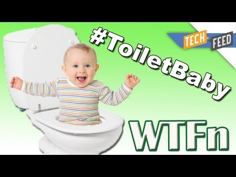 WTFn - #TOILETBABY