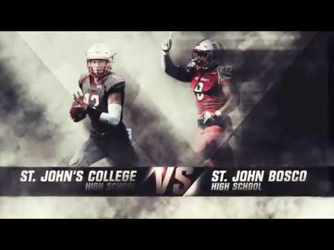 #12 St. John's College VS #7 St. John Bosco Only On FloFootball