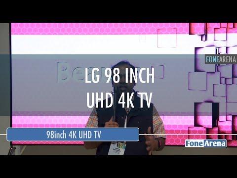 LG 98 inch 4K ULTRA HD TV