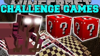 Minecraft: NERUBIAN CHALLENGE GAMES - Lucky Block Mod - Modded Mini-Game
