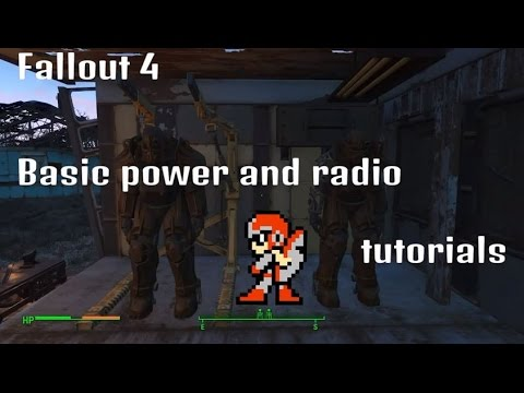 Fallout 4 basic power and radio beacon tutorial