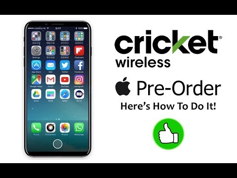How To PRE-ORDER THE iPHONE 8 For Cricket Wireless