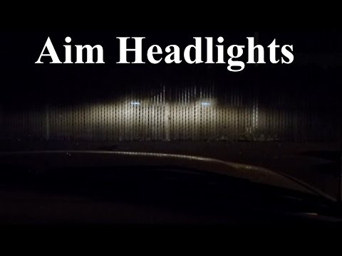 How to Adjust, Align, and Aim Headlights and Fog Lights PERFECTLY