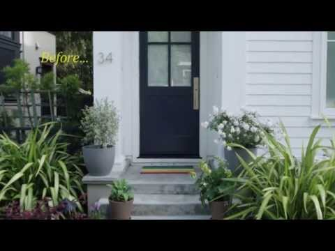 How To Paint Your Front Door: Inside and Out