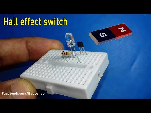 How To Make Magnetic Switch Using Hall Effect Sensor