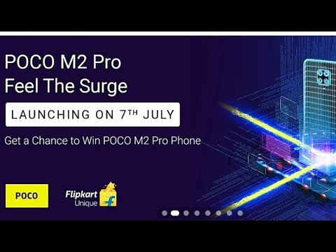 Flipkart Quiz Answer Today | Get a chance to win POCO M2 Pro Phone | 1st july