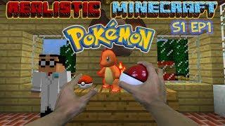 REALISTIC MINECRAFT - STEVE BECOMES A POKEMON TRAINER! Pokémon GO Trinity [Pixelmon] STEVE ARNOLD