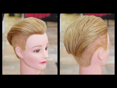 Scarlett Johansson NEW Undercut Haircut - TheSalonGuy