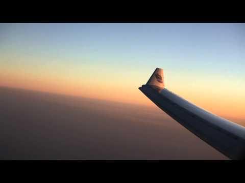 EY290 AUH-KTM Etihad Airways Abu Dhabi to Kathmandu Business Class Views of Himalayas and Everest