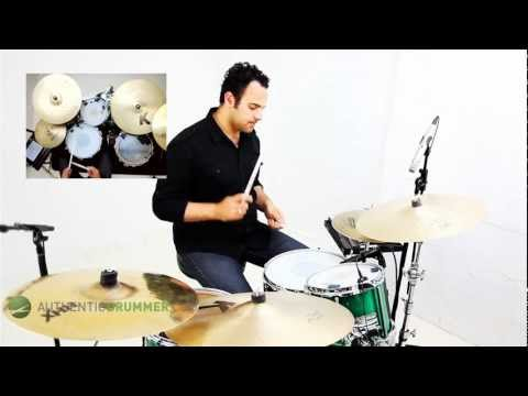 Free Video Drum Lesson   Making Your Hip-Hop Beat Groove   Authentic Drummer