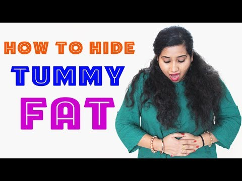 How to Hide Tummy Fat | 8 WAYS | Styling Tips for Girls | Happy Pink Studio