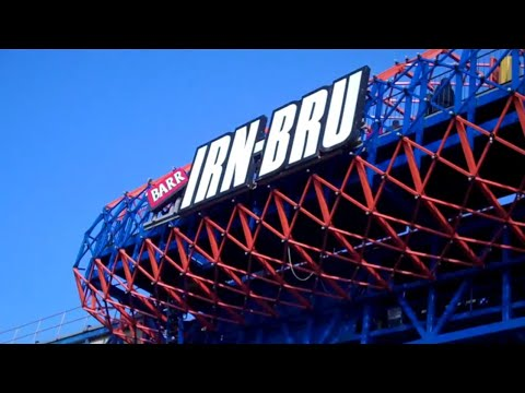 Irn-Bru Revolution (On & Off Ride With Old Trains) At Pleasure Beach Blackpool